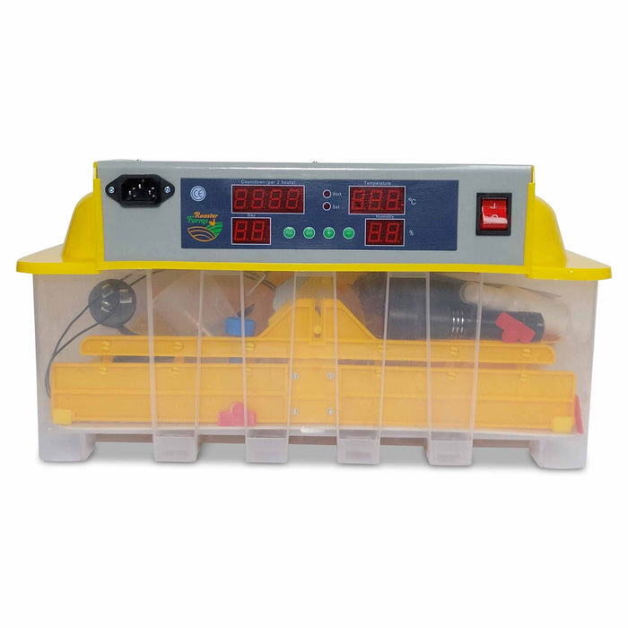 Electric 48 Egg Incubator + Accessories Hatching Eggs Chicken Quail Duck