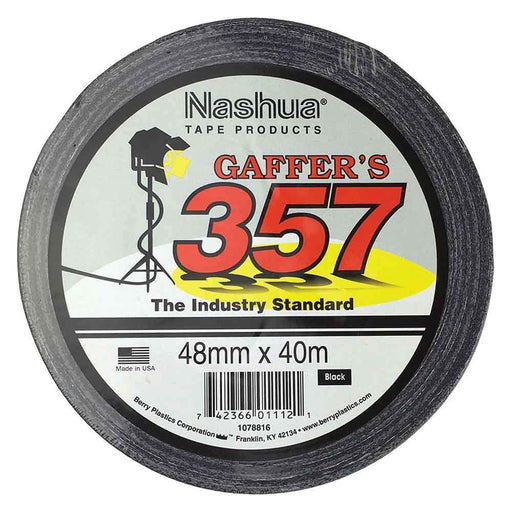 48mmx40m Gaffa Tape | Nashua Cloth 357 Waterproof Industry Gaffer Adhesive Duct-Nashua-ozdingo