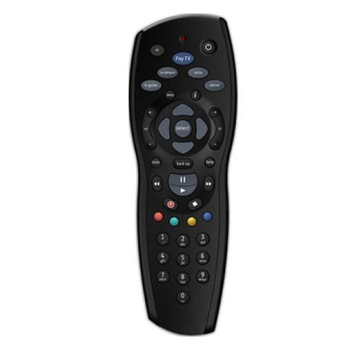 4x FOXTEL REMOTE Control Replacement For FOXTEL MYSTAR SKY NEW ZEALAND - Black-PAYTV-ozdingo