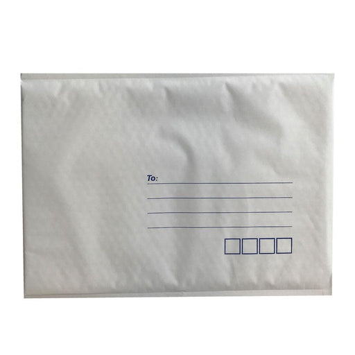 50x Tempest 265x380mm Bubble Mailers No.5 White Padded Eco Mail Bags Envelopes-Tempest-ozdingo