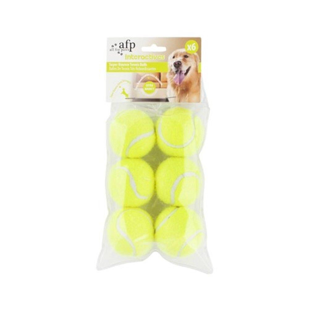 6 Pack Replacement Balls Interactive Hyper Fetch Mini All For Paws AFP-All For Paws-ozdingo
