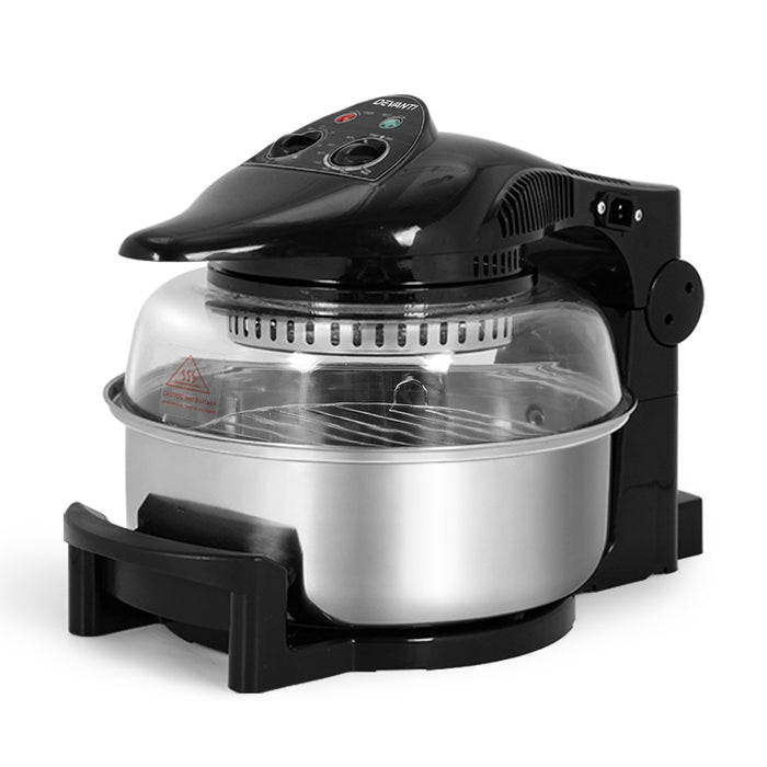 Devanti 12L Air Fryer - Black