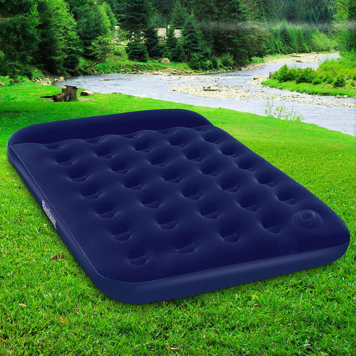 Bestway Double Size Inflatable Air Mattress - Navy
