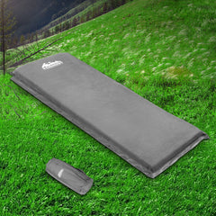 Weisshorn Single Size Self Inflating Matress - Grey