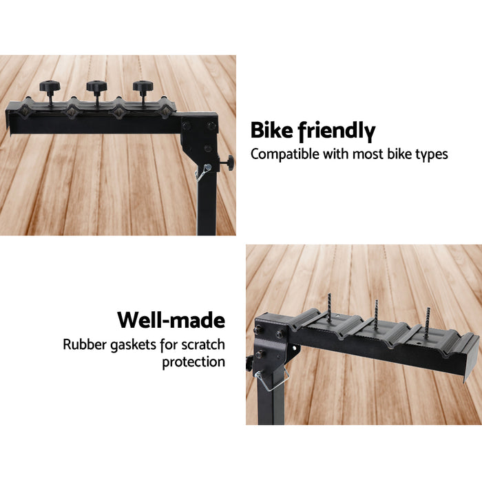 Giantz 22 Inch 4 Bike Foldable Rear Car Bike Rack