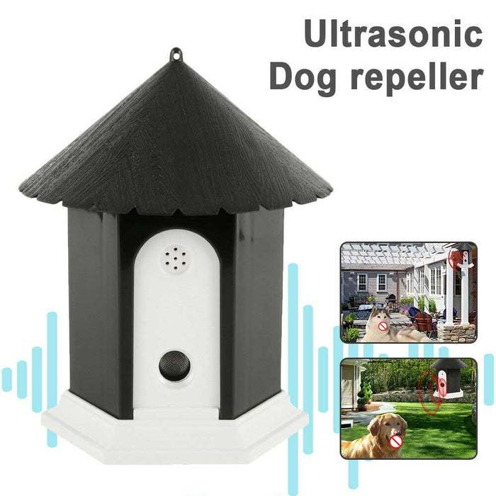 Dog Bark Control Pet Outdoor Ultrasonic Stop Anti Barking Sound Puppy Automatic