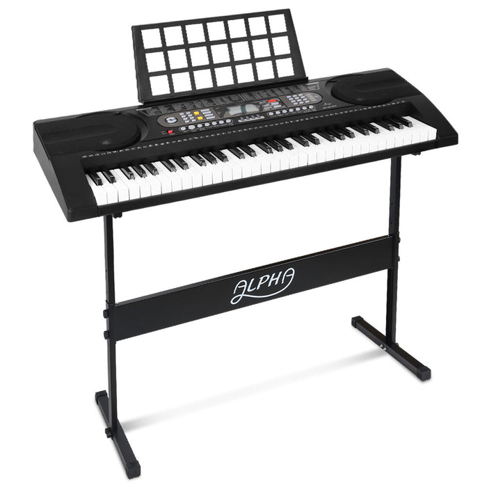 Alpha 61 Keys Electronic Piano Keyboard Electric Instrument Touch Sensitive Midi