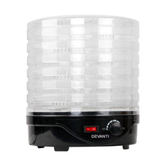 5 Star Chef Food Dehydrator with 7 Trays - Black