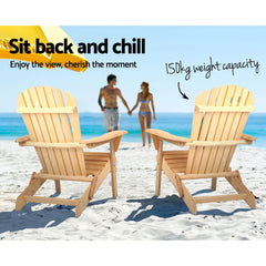 Gardeon Outdoor Foldable Beach Garden Chair