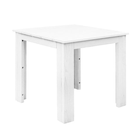 Gardeon Outdoor Side Beach Table - White
