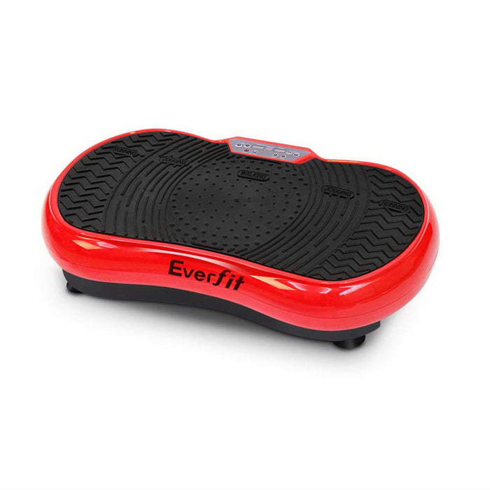 Everfit Vibration Machine Plate Platform Body Shaper Home Gym Fitness Red
