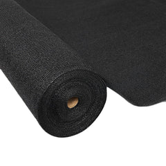 Instahut 1.83 x 10m Shade Sail Cloth - Black