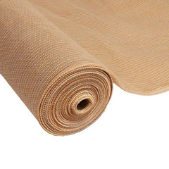 Instahut 3.66 x 20m Shade Sail Cloth - Beige