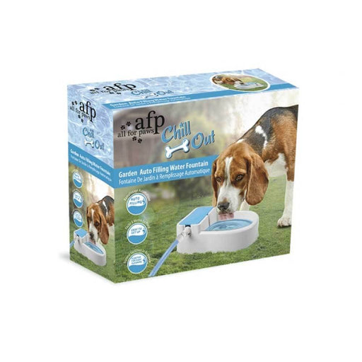 Auto Filling Dog Water Fountain AFP Garden Outside Automatic Pet Drinking Bowl-All For Paws-ozdingo
