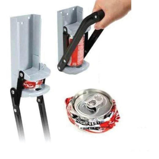 CAN CRUSHER Beer Soda Smasher 16oz Aluminium Recycling Bottle Opener Wall Mount-OzGadgets-ozdingo