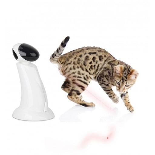 Cat Toy Laser Beam Interactive Robot Pointer Toys Pet Kitty Fun All For Paws-All For Paws-ozdingo