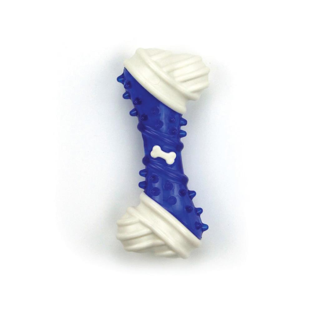 Dog Chew Bone Blue Chicken Flavour Taste Dental Puppy Chews Rigid Teething Gum Toy AFP-All For Paws-ozdingo