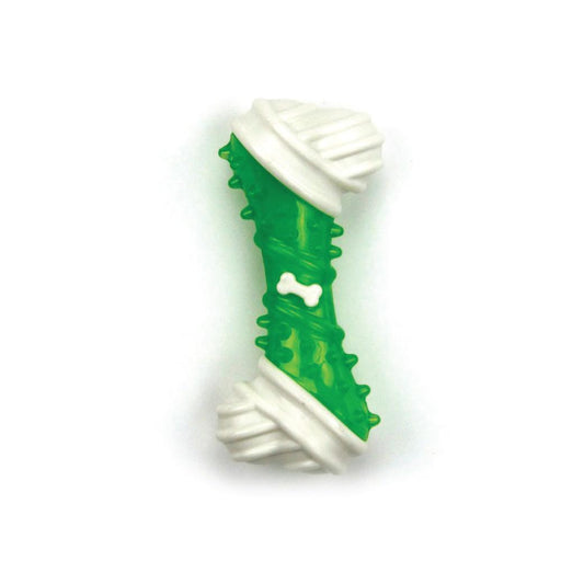 Dog Chew Bone Green Chicken Flavour Taste Dental Puppy Chews Rigid Teething Gum Toy AFP-All For Paws-ozdingo