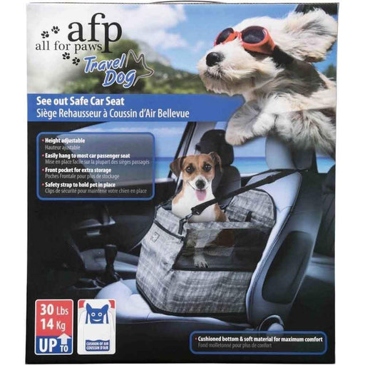 Dog Portable Car Seat See Out Safe Air Cushion Travel Box Booster All For Paws-All For Paws-ozdingo