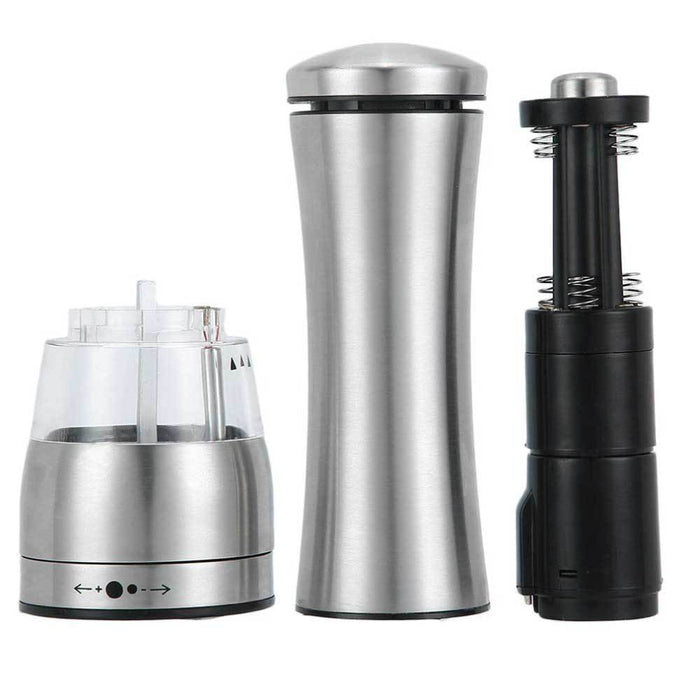 Electric Salt Pepper Grinder Shakers Automatic Battery Operated Stainless Mill, Pepper Grinder, Ninghai Marsun - ozdingo
