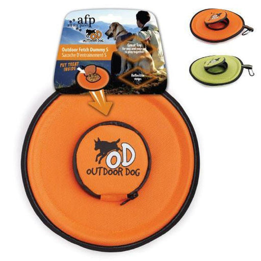 All For Paws Interactive Outdoor Fetch Frisbee Dummy With Treat, Pet Toys & Supplies, All For Paws - ozdingo