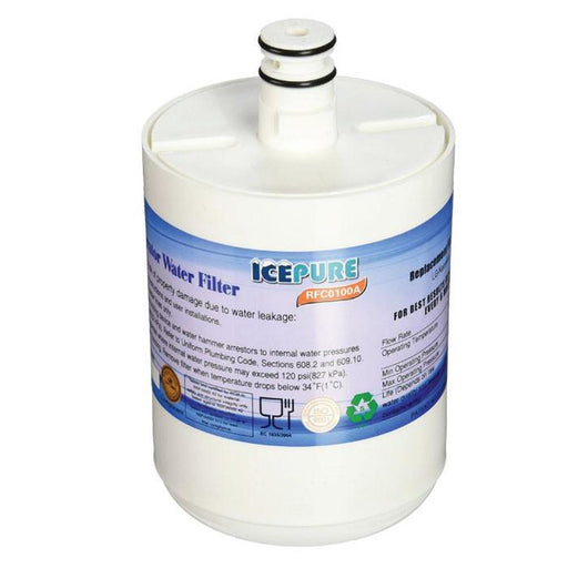 Fridge Water Filter Cartridge | RFC0100A RWF0100A LG LT500P 5231JA2002 KENMORE GEN11042F 469890, Fridge Filters, Golden Icepure - ozdingo