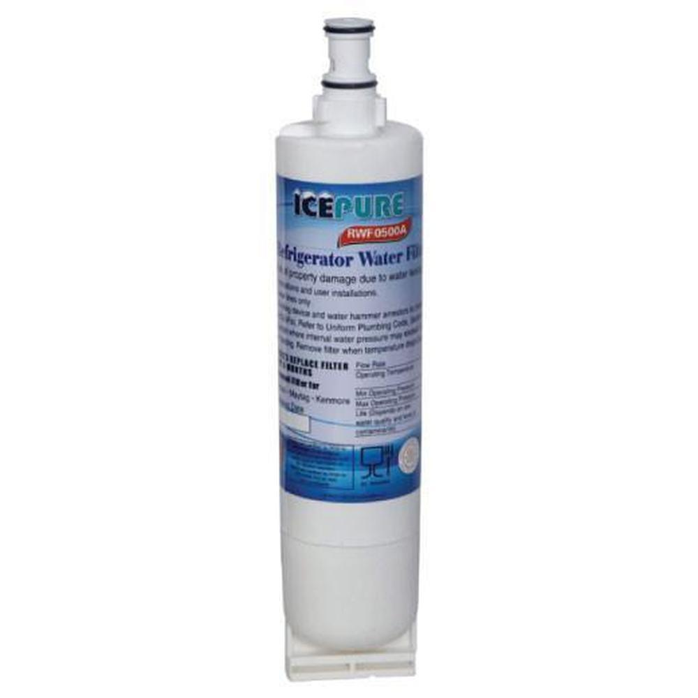 Fridge Water Filter Cartridge RFC0500A RWF0500A Whirlpool 4396508 Kenmore 469010-Golden Icepure-ozdingo