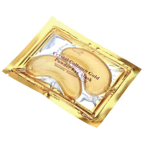 Gold Collagen Under Eye Mask Crystal Gel Pads Dark Circle Ant-Wrinkle Patch-Gold-ozdingo