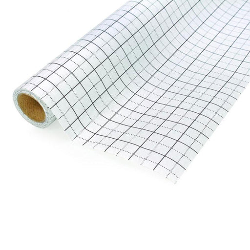 Grid Pattern Tracing Paper Birch 10m x 80cm Blue Printed Dressmakers Sewing Roll-Birch Haberdashery And Craft-ozdingo