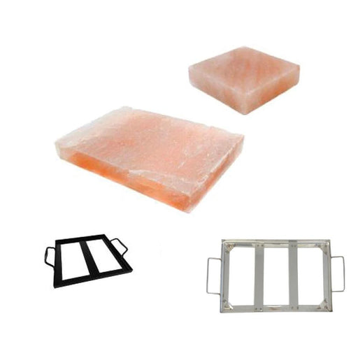 Himalayan Pink Salt Cooking Block Slab Tile Stone | Cook Pan Salt Marinate-The Himalayan Salt Collective-ozdingo