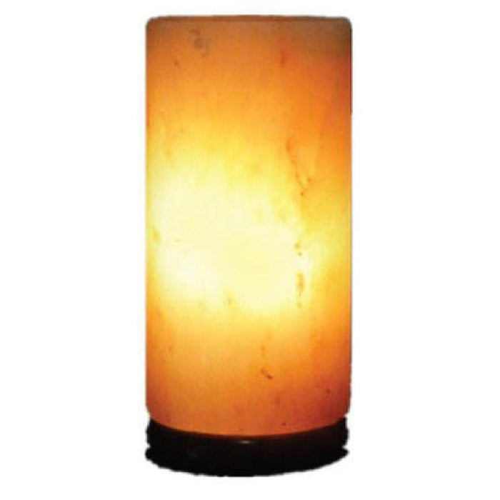 Himalayan Pink Rock Salt Lamp Cylinder Shape-Himalayan products-The Himalayan Salt Collective-ozdingo