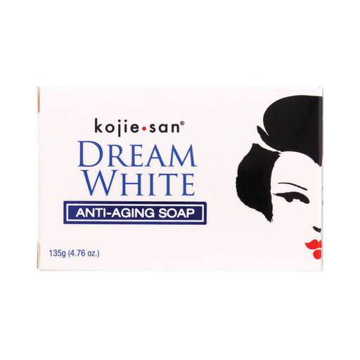 Kojie Anti Aging Soap Dream White 135g Whitening Brightening Elastin Collagen-Kojie San-ozdingo