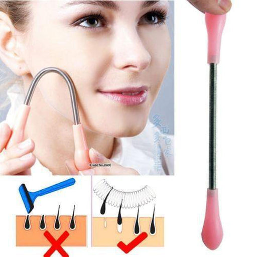 Manual Facial Hair Removal Threader | Face Hairs Clipping Roller Tool Hair & blemish removers Beauty