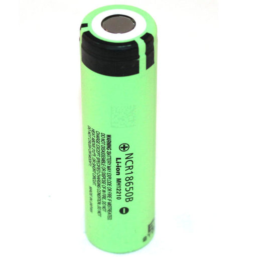 Panasonic NCR 18650 B 6.5A 3400mAh 3.7V Rechargeable Lithium Battery-Panasonic-ozdingo