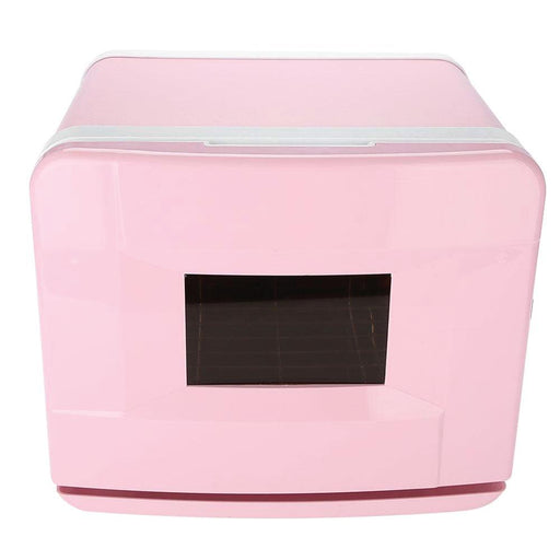 Pink Electric Towel Warmer UV Steriliser Cabinet 8A Small Hot Heater Sanitiser-Salon Pro-ozdingo