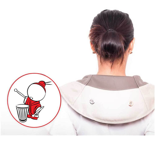 Power Drum Tapping Massager - Neck Shoulder Cervical Tap Percussion Massage-Puli Massagers-ozdingo