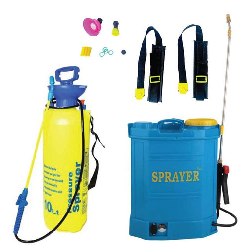 Pressure Sprayer Pumps Range - Garden Weed Herbicide Pesticide Liquids Spray-Rooster Farms-ozdingo