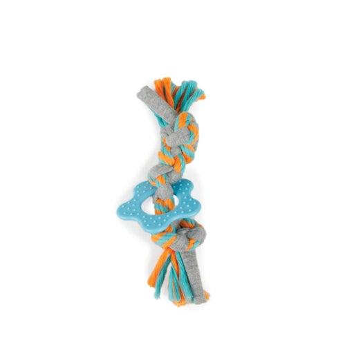 Puppy Multi Chew Rope Ring Toy Knotted Braided Cotton Dog Teething Play Toys AFP-All For Paws-ozdingo