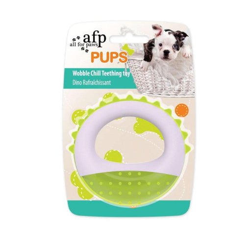 Puppy Teething Toy Ring Puppies Dental Gel Chew Dog Wobble Chill Cold Toys AFP-All For Paws-ozdingo