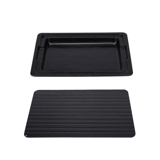 Rapid Defrosting Meat Tray FDA Approved | Large Miracle Aluminium Thawing Plate-Defrost Express-Ninghai Marsun-ozdingo