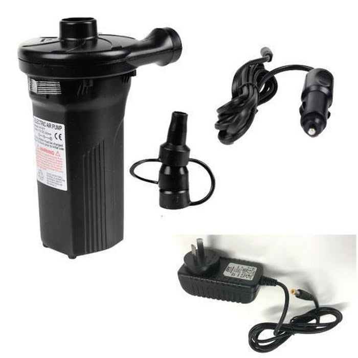 Rechargeable Electric Air Pump Inflator Deflator | AC Wall Plug & DC Car Lighter Plug-Hardware Misc-Smayda-ozdingo