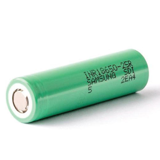 Samsung 25R INR 18650 20A 2500mAh 3.7V Rechargeable Lithium Battery-Batteries-Samsung-ozdingo