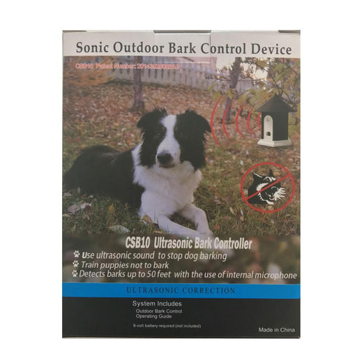 Ultrasonic Outdoor Stop Barking Dog Training | Anti Bark Control Device-Dog Barking Solutions-ozdingo