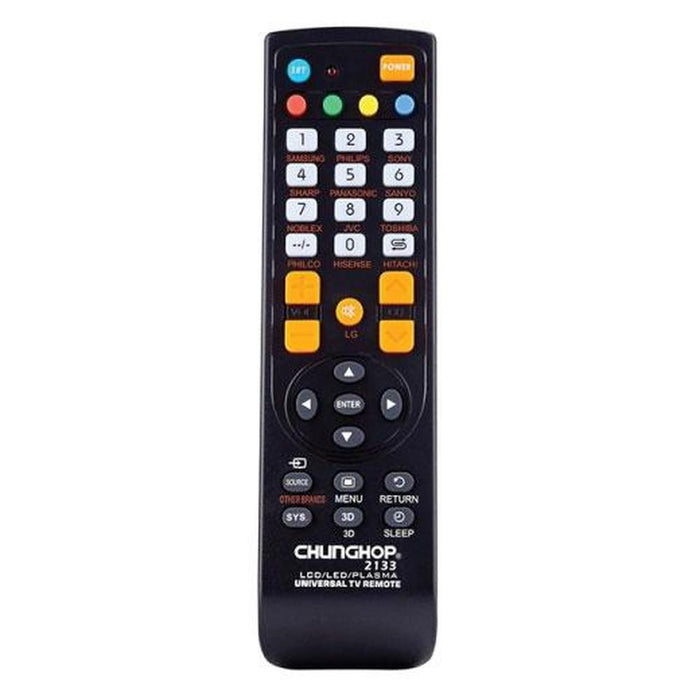 Universal Plasma TV Remote Control | Compatible With Many Brands-Remotes-Chunghop-ozdingo