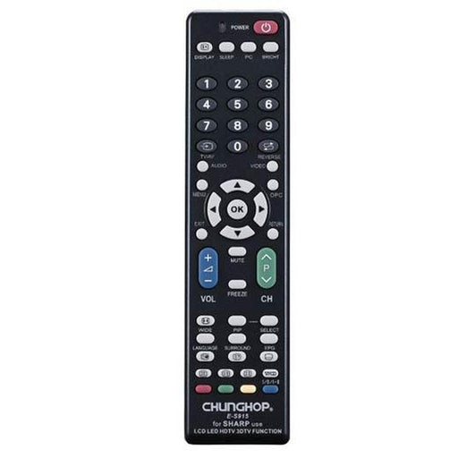 Universal Sharp TV Remote Control Replacement-Remotes-Chunghop-ozdingo