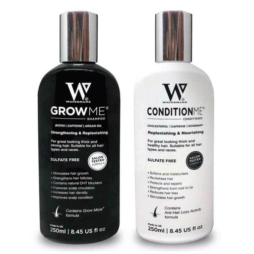 Watermans Grow Me Shampoo and Conditioner Hair Growth Pack Combo Anti Loss Fall-Watermans-ozdingo