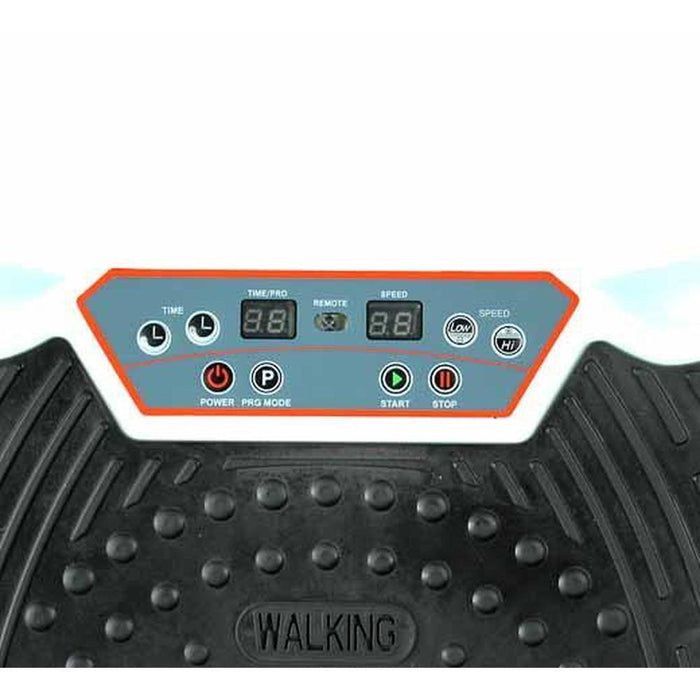 White Vibration Machine Platform Plate Vibrating Power Shape Exercise Fitness-Eilison-ozdingo