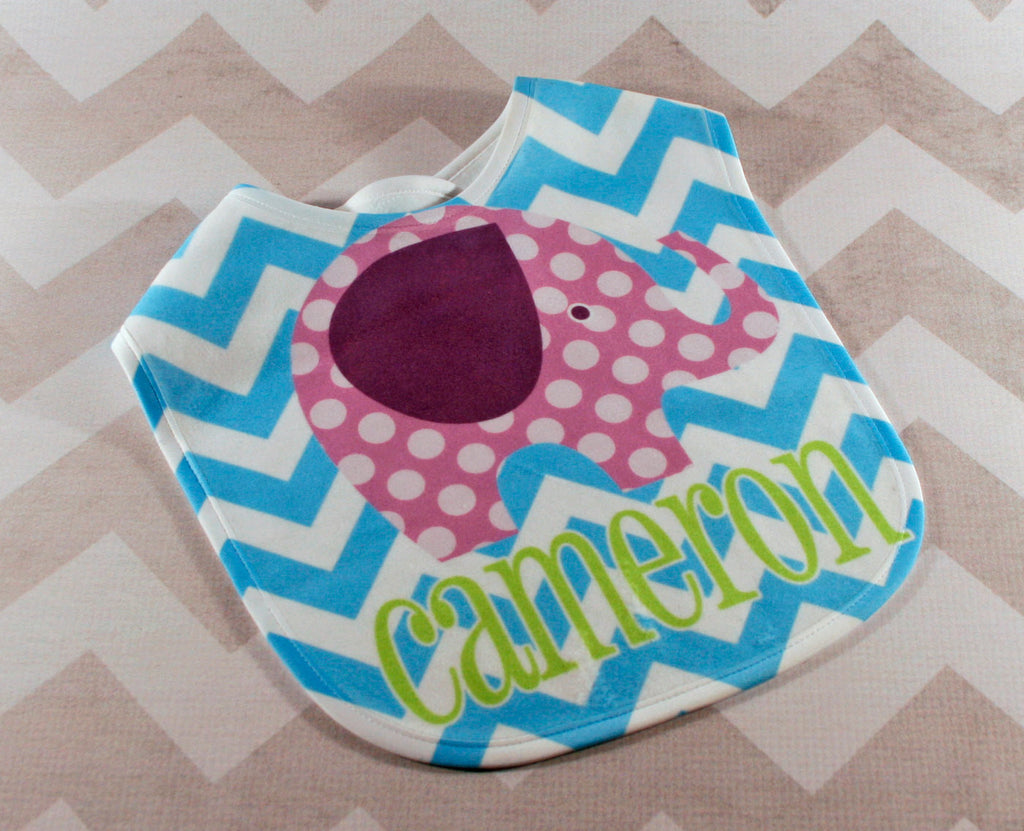 Personalized Baby Bib - Monogrammed Baby Bib - Personalized Baby Shower Gift