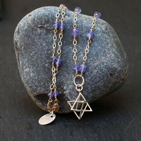 Merkabah-Pendant-Tanzanite-Necklace-Yoga-Spirit