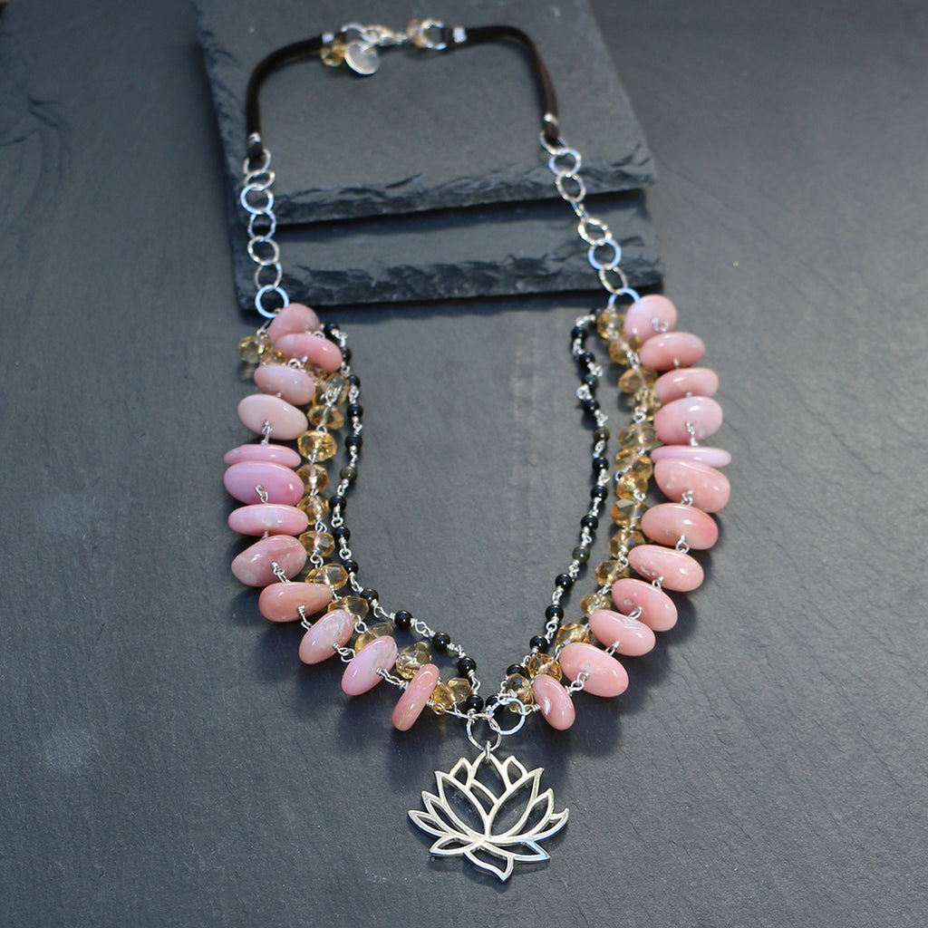 by gold cube opal jewelry on chain la product necklace peruvian isla